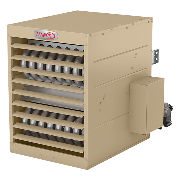 Explore LS25 Separated Combustion Unit Heater in 3D